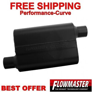Flowmaster Super 44 Series Muffler Performance Exhaust 2 5 O o 942548