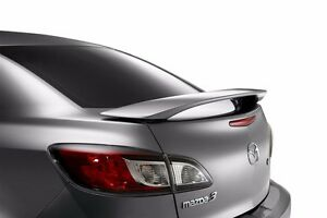 312 Primered Factory Style Spoiler Fits The 2010 2011 2012 2013 Mazda 3