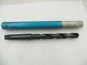 13 16 3 Morse Taper High Speed Drill Bit U s a National Twist Stand Tool