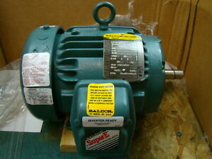 Baldor 1 Hp 3450 Rpm Electric Motor Ecp3580t 4