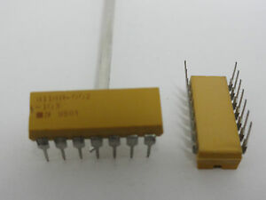 10k Ohm 4114r 002 103 13 Pullup Resistors Bussed 14 Pin 10k Bourns Qty 1000