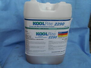 Koolrite 2290 Soluble Oil Coolant Haas Fadal Cutting Fluid Cnc Milling Lathe