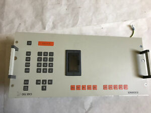 Schenck Cab 750 Measurement Correction System Keyboard 018373 03 L1 Aftv700