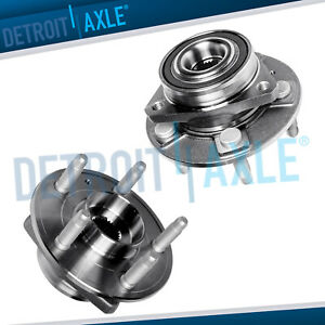 2 Front Wheel Bearing And Hub Assembly For 2008 2016 Chevy Camaro Cadillac Cts