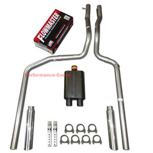 87 96 Ford F150 F250 Truck Performance Dual Exhaust W Flowmaster Super 44