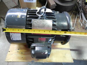 Us Electric Motors 12718240 100 Ac Motor 5 Hp Made In Usa Industrial G64890