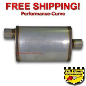 2 5 O c Performance Muffler Max Flow Stainless Steel 4x9 Mf1226