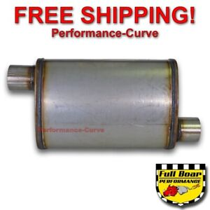 2 5 O o Performance Muffler Max Flow Stainless Steel 4x9 Mf1236
