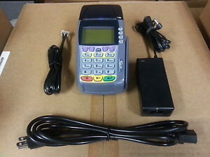Verifone Omni 3740 Credit Card Terminal Complete Set W Warranty 3750 3730