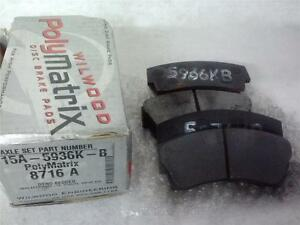Wilwood Brake Pads 15a 5936k Bedded