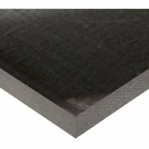 Acetal Copolymer Sheet extruded Black 24 X 24 X 2 Thick nominal