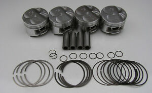 Nippon Racing Full Floating Usdm Gs R B18c P72 Pistons 81 50mm Oversized 020