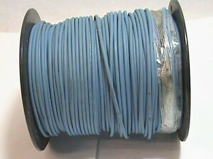 500 Foot Spool 14 Awg Service Wire Co Blue Blue Xhhw 1 Cdr 600v 2 Cu Vw1