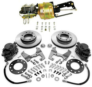 1955 59 Chevy And Gmc Truck Front Power Disc Brake Conversion Kit 6 X 5 5