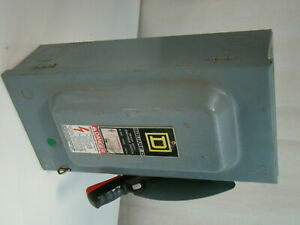 Square D 60a 240vac Safety Switch H222n