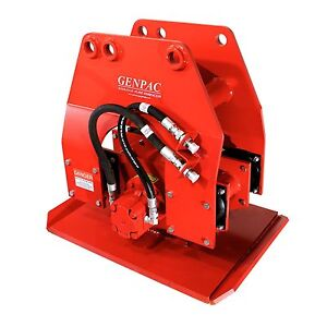 Hydraulic Plate Compactor Driver 24 X 36 For 15 000 37 000lbs Excavators New