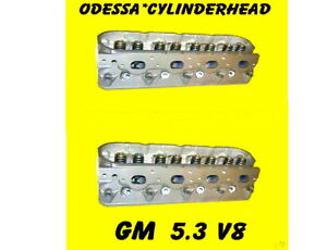 Pair Gm Gmc Cadillac Buick Chevy 4 8 5 3 Ohv V8 Cylinder Heads Cast 706