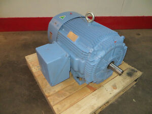 100 Hp Hyundai Ac Electric Motor 230 460 Volts 3570 Rpm Tefc 405ts Frame New