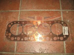 New Copper Head Gasket Made In The Uk For Mga 1622 And Mgb 1800 1963 1980