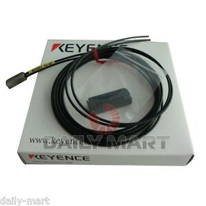 Keyence Digital Fiber Optic Sensor Fu 40 Fu40 Original New In Box Nib Free Ship