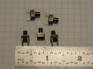 5 Mini Push Button 6 Mm Spst Normally Open Switches For Ckt Bds 5