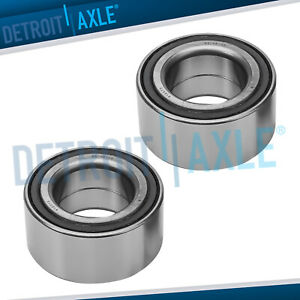 Pair 2 Front Wheel Bearings For Honda Accord Element Acura Tsx Tl Ilx Civic Si