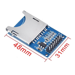 Sd Card Module Slot Socket Reader For Arduino Arm Mcu Read And Write Good Qualit