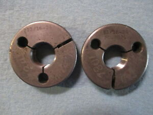 13 16 24 Thread Ring Gages Go No Go 8125 Pds 7842 7801 Quality Inspection