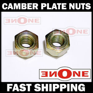 Camber Plate Plates Strut Mount Mounts Center Nut Nuts M12 X 1 25 Threads Thread