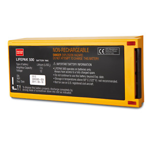 Physio Control Li so2 Non rechargeable Battery For Lifepak 500 11141 000158