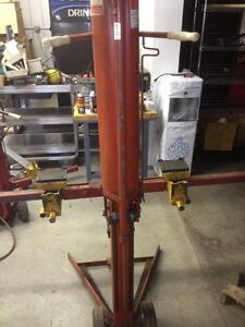 Snap On Ya 689 End Lift 3000 Lb Bumper Jack Pneumatic Truck Lift
