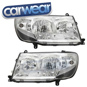 Toyota Landcruiser 100 Series 05 Chrome Black Altezza Head Lights Gxl Vx Sahara