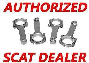Mitsubishi Scat H Beam Connection Rods Arp 2000 Bolts 4g63t 7 Bolt Dsm Turbo Evo