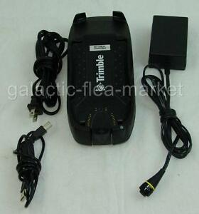 Trimble Gps Geo Xt Support Module With Power Supply Usb P n 46502 00