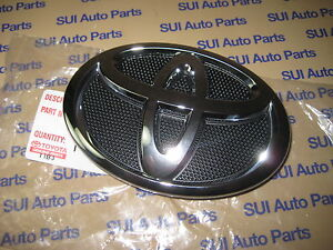 Toyota Camry Front Grille Emblem Oem Factory Toyota Genuine Oem 2007 2009