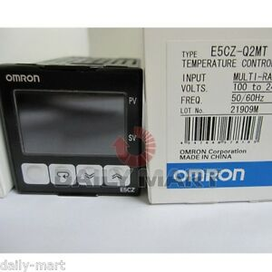 New In Box Omron Temperature Controller E5cz q2mt E5czq2mt 100 240vac Free S