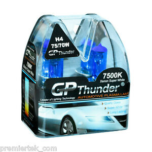 Authenti Gp Thunder Ii 7500k H4 9003 Hb2 Xenon Quartz Light Bulb 70 75w Gp75 H4