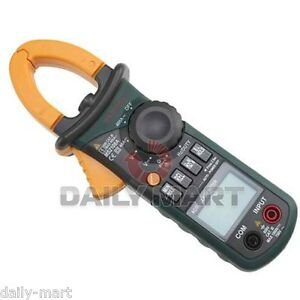 Mastech Professional Ms2108a Non T rms 4000 Ac Dc Current Clamp Meter