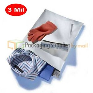 4000 14x19 Poly Mailers Shipping Envelopes Bags Self Sealing 3 Mil 14 X 19