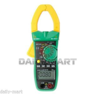 Mastech Ms2138r 4000 Counts Digital Ac dc Clamp Meter With True Rms Auto manual