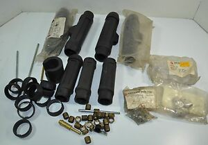 Large Lot Of Alexander Binzel Welding Parts Adaptor Supports Gas Diffusor