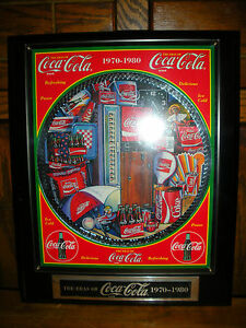 Coca Cola  David Lencho Musical Plaque-