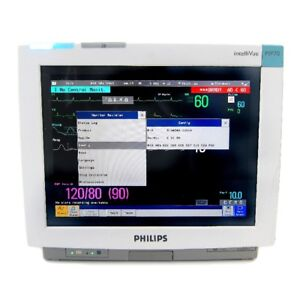 Philips Intellivue Mp70 Monitor With M3001a Module Biomed Certified Warranty