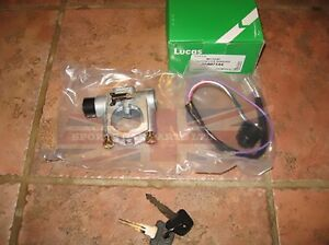 New Lucas Ignition Steering Lock And Key Switch Mg Midget 1975 1979