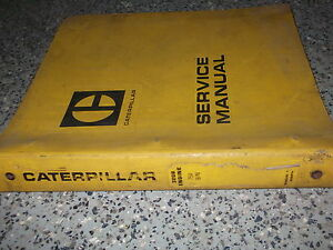 Caterpillar Cat 3208 Engine Serial 75v1 up 90n1 up Service Shop Manual Oem X