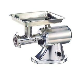 Adcraft Meat Grinder Aluminum Stainless Steel Head Reverse Mg 1 5