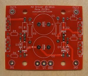 Diy Pcb Mosfet Source Follower Buffer For Class a2 Drive