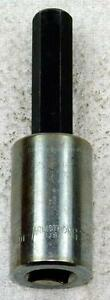 Armstrong 12mm Hex Key Bit 3 3 4 Inches Tall 1 2 Drive Socket Made In Usa