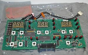 Miller Welder Display Circuit Board card Assembly Refurbished Part 089764