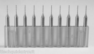 T Tech Carbide Micro Drill Bit Pcb Cnc Milling Tool 10 Mil Pack Of 10 New